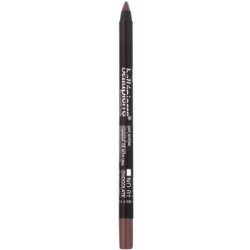BelláPierre Gel Eye Liner crayon gel waterproof yeux teinte No.01 Chocolate 1,8 g