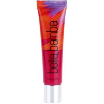 Benefit Ultra Plush brillant à lèvres teinte Bella Bamba (Sheer Bright Watermelon) 15 ml