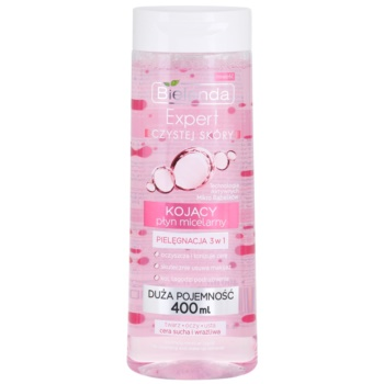 Bielenda Expert Pure Skin Soothing eau micellaire nettoyante 3 en 1 400 ml