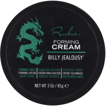 Billy Jealousy Ruckus crème stylisante fixation forte (Strong Hold, High Shine) 85 g