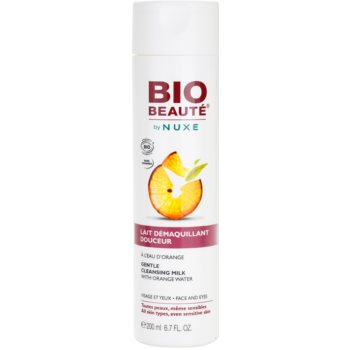 Bio Beauté by Nuxe Cleansing lait nettoyant à l'eau d'orange (Gentle Cleansing Milk With Orange Water For Face And Eyes) 200 ml