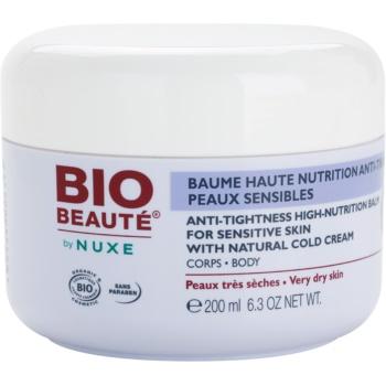 Bio Beauté by Nuxe High Nutrition baume nourrissant intense riche en Cold Cream (Anti-Tightness High-Nutrition Balm With Natural Cold Cream) 200 ml