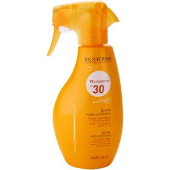 Bioderma Photoderm spray solaire SPF 30 (Sun Spray Sensitive Skin) 400 ml