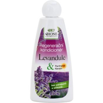 Bione Cosmetics Lavender après-shampoing régénérant (Parabens and Silicons Free) 260 ml