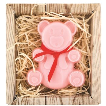Bohemia Gifts & Cosmetics Bear savon fait à la main à la glycérine 60 g