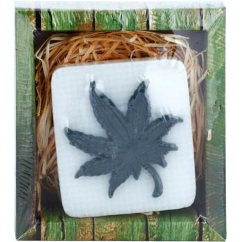 Bohemia Gifts & Cosmetics Cannabis savon fait à la main à la glycérine 100 g