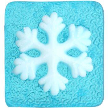 Bohemia Gifts & Cosmetics Snowflake savon fait à la main à la glycérine 70 g