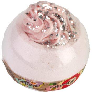 Bomb Cosmetics Cotton Candy boule de bain effervescente 160 g