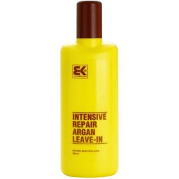 Brazil Keratin Argan après-shampoing sans rinçage à la kératine et huile d'argan (Intensive Repair Argan Leave-In) 300 ml