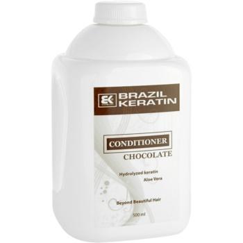 Brazil Keratin Chocolate après-shampoing pour cheveux abîmés (Conditioner) 500 ml