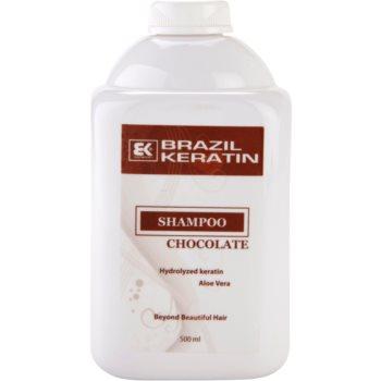 Brazil Keratin Chocolate shampoing pour cheveux abîmés (Shampoo) 500 ml