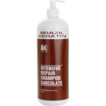 Brazil Keratin Chocolate shampoing pour cheveux abîmés (Shampoo) 1000 ml