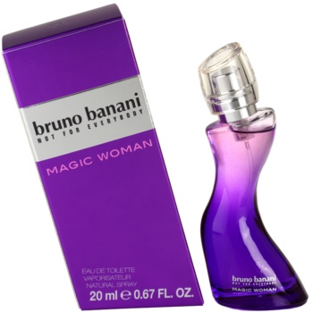 Bruno Banani Magic Woman eau de toilette pour femme 20 ml