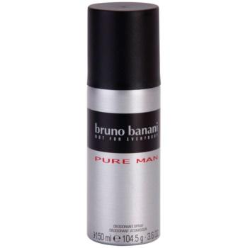 Bruno Banani Pure Man déo-spray pour homme 150 ml
