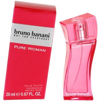 Bruno Banani Pure Woman eau de toilette pour femme 20 ml