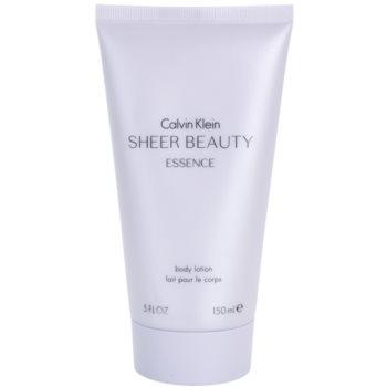 Calvin Klein Sheer Beauty Essence lait corps pour femme 150 ml