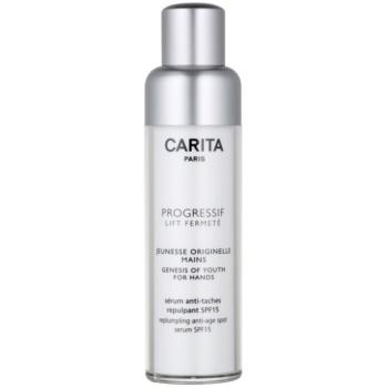 Carita Progressif Lift Fermeté crème rajeunissante anti-taches pigmentaires mains SPF 15 50 ml