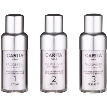 Carita Progressif Lift Fermeté soin rajeunissant 3 étapes (Genesis of Youth Intensive Night Care) 3 x 15 ml