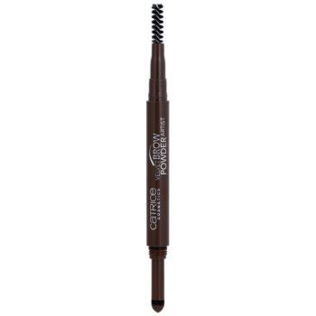 Catrice Velvet Brow Powder Artist crayon pour sourcils teinte 030 Dark Brow(n) Is The New Black 0,5 g