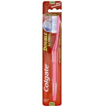 Colgate Double Action brosse à dents medium Pink (Clean In Between Teeth)
