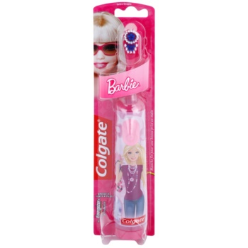 Colgate Kids Barbie brosse à dents à piles enfant extra soft Pink