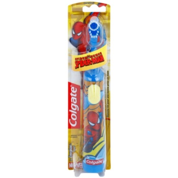 Colgate Kids Spiderman brosse à dents à piles enfant extra soft Blue