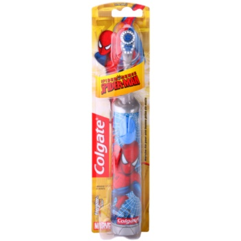 Colgate Kids Spiderman brosse à dents à piles enfant extra soft Gray