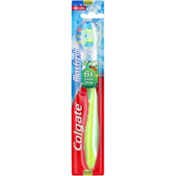 Colgate Max Fresh brosse à dents medium Green (Tongue Freshener)