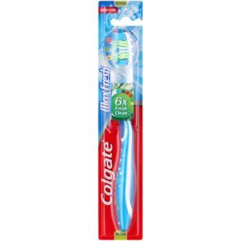 Colgate Max Fresh brosse à dents medium Blue (Tongue Freshener)