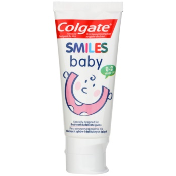 Colgate Smiles Baby dentifrice pour enfants Pure Gel & Gentle Flavor (0-2 Years) 50 ml