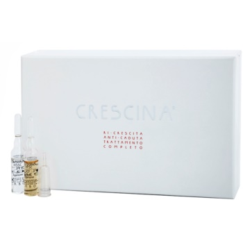 Crescina HFSC AGENONE 500 ampoules cheveux anti-amincissement stade moyen et avancé pour homme (Re-Growth, Anti-Hair Loss, Complete Treatment) 20 x 3,5 ml