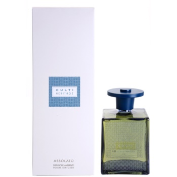 Culti Heritage Blue Arabesque diffuseur d'huiles essentielles avec recharge 1000 ml  (Assolato)