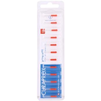 Curaprox Prime Refill CPS blister de brossettes interdentaires de rechange 12 pièces CPS 07 Red 0,7 – 2,5 mm