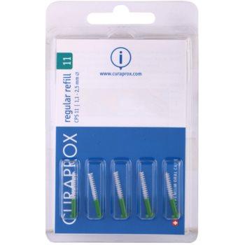 Curaprox Regular Refill CPS blister de brossettes interdentaires de rechange 5 pièces CPS 11 Green 1,1 – 2,5 mm (Interdental Brushes)
