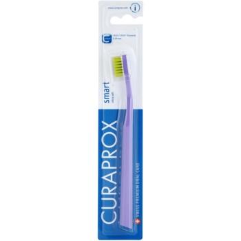 Curaprox 7600 Smart Ultra Soft brosse à dents Violet & Green (7600 Curen Filaments 0,08 mm)