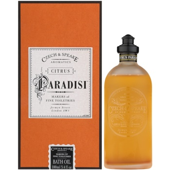 Czech & Speake Citrus Paradisi huile de douche mixte 100 ml
