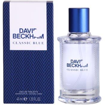 David Beckham Classic Blue eau de toilette pour homme 40 ml