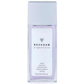 David Beckham Signature for Him déodorant avec vaporisateur pour homme 75 ml