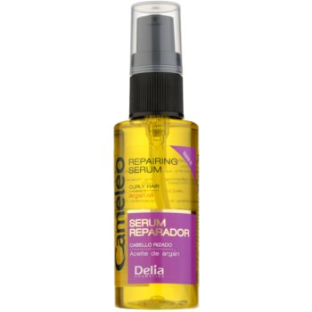Delia Cosmetics Cameleo BB sérum régénérant pour cheveux bouclés (Argan Oil) 55 ml
