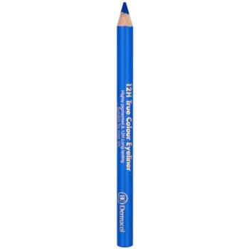 Dermacol 12H True Colour Eyeliner crayon yeux longue tenue teinte 02 Electric Blue 2 g