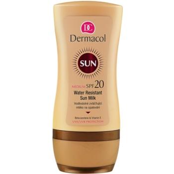Dermacol Sun Water Resistant lait solaire waterproof SPF 20 (Water Resistant Sun Milk) 200 ml