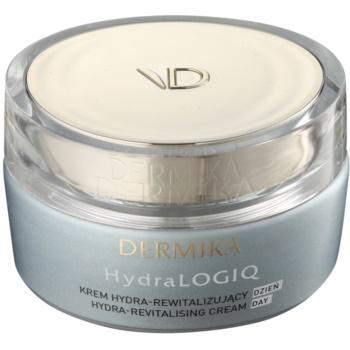Dermika HydraLOGIQ crème de jour revitalisante pour peaux normales à sèches 30+ (with Porcelan Flower) 50 ml