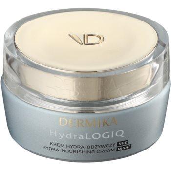 Dermika HydraLOGIQ crème de nuit nourrissante effet hydratant 30+ (with Porcelan Flower) 50 ml