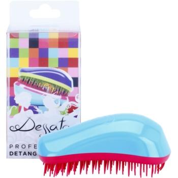 Dessata Original brosse à cheveux Turquoise - Fuchsia