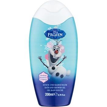 Disney Cosmetics Frozen bain moussant et gel douche 2 en 1 (Rasberry) 200 ml
