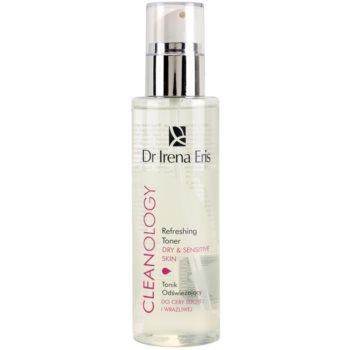 Dr Irena Eris Cleanology lotion tonique rafraîchissante pour peaux sensibles et sèches 200 ml