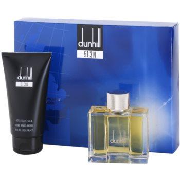 Dunhill 51.3 N coffret cadeau I. eau de toilette 100 ml + baume après-rasage 150 ml