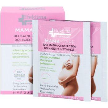 Efektima PharmaCare Mama-Care lingettes hygiène intime (Hypoallergenic) 8 pcs