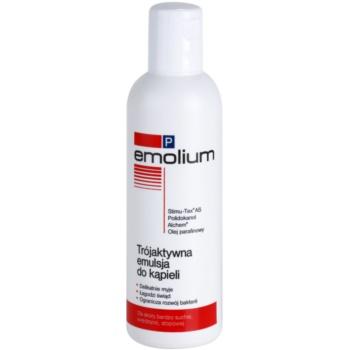 Emolium Wash & Bath P émulsion pour le bain effet triple 200 ml