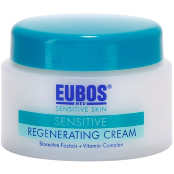 Eubos Sensitive crème régénérante à l'eau thermale (Bioactive Factors + Vitamin Care Complex) 50 ml